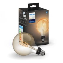 Ampoule dimmable LED Philips HUE WHITE FILAMENT G125 E27/7W/230V 2100K