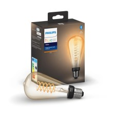 Ampoule dimmable LED Philips HUE WHITE FILAMENT ST72 E27/7W/230V 2100K