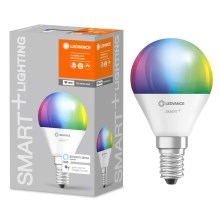 Ampoule dimmable LED RGB SMART+ E14/5W/230V 2700K-6500K wi-fi - Ledvance
