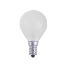 Ampoule industrielle BALL FROSTED E14/25W/230V