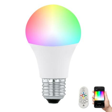 Ampoule LED à intensité modulable CONNECT E27/9W + télécommande - Eglo 11585