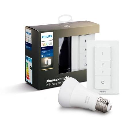 Ampoule LED à intensité modulable Philips HUE WHITE E27/9W/230V