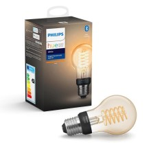 Ampoule LED à intensité modulable Philips HUE WHITE FILAMENT A60 E27/7W/230V 2100K