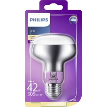 Ampoule LED à réflecteur Philips R80 E27/5W/230V