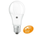 Ampoule LED avec détecteur E27/8,5W/230V 2700K - Osram
