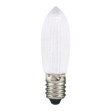 Ampoule LED décorative E10/0,3W/14-55V