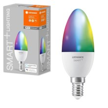 Ampoule LED RGB à intensité variable SMART + E14 / 5W / 230V 2700K-6500K - Ledvance