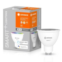 Ampoule LED RVBB à intensité variable SMART + GU10 / 5W / 230V 2700K-6500K - Ledvance