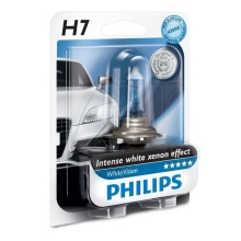 Ampoule pour voiture Philips WHITEVISION 12972WHVB1 H7 PX26d/55W/12V