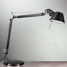 Artemide AR A005940+AR A008610 ENSEMBLE - Lampe de table TOLOMEO MINI 1xE27/70W/230V