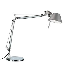Artemide AR A015100+AR A003900 ENSEMBLE - Lampe de table LED dimmable TOLOMEO MIDI 1xLED/9W/230V