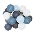 Boule décorative LED 20xLED/0,03W/3xAA