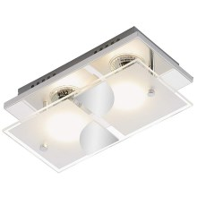 Briloner 3597-028 - Plafonnier LED TOM 2xGU10/3W/230V