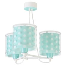 Dalber 41007H - Suspension pour enfant DOTS 3xE27/60W/230V