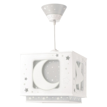 Dalber 63232E - Lustre enfant MOON LIGHT 1xE27/60W/230V