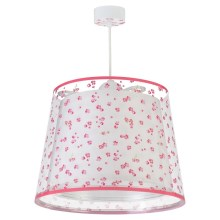 Dalber 81172S - Suspension pour enfant DREAM FLOWERS 1xE27/60W/230V