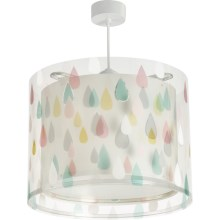 Dalber D-41432 - Suspension pour enfant COLOR RAIN 1xE27/60W/230V