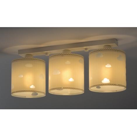 plafonnier 3XE27 BLANC LUMINAIRES POUR ENFANTS Lampe chambre d/'enfant éclairage