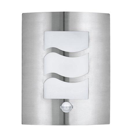 EGLO 30194 - Applique murale LED extérieure à détecteur CITY 1 1xE27/10W/230V IP44