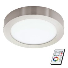 Eglo 78767 - Plafonnier LED RGB à intensité modulable TINUS 1xLED/6W/230V