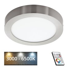 Eglo 78769 - Plafonnier LED à intensité modulable TINUS 1xLED/21W/230V