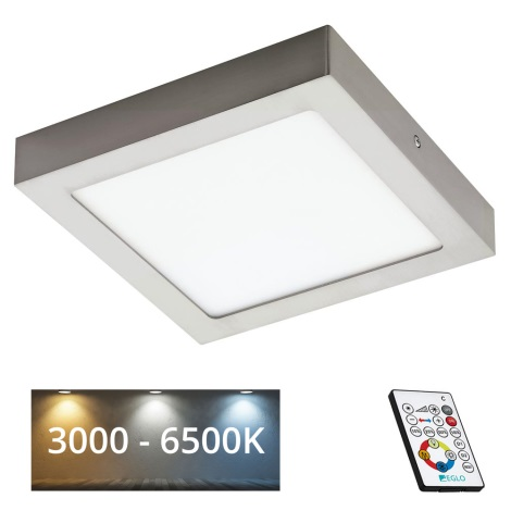 Eglo 78771 - Plafonnier LED à intensité modulable TINUS 1xLED/21W/230V