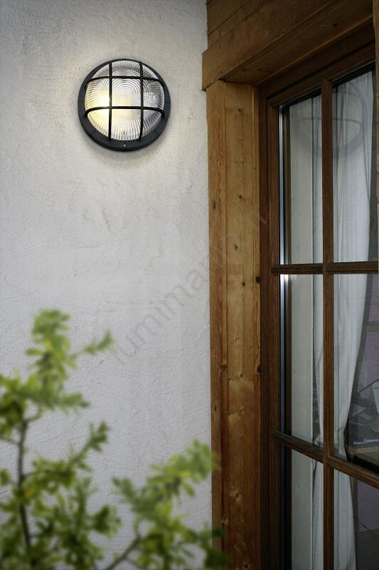 Applique Anola 1xe2740w 88803 Noir Ip44 Eglo Murale Extérieure hrBsdCxtQ