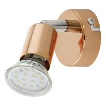 Eglo 94772 - Spot LED BUZZ-COPPER 1xGU10/3W/230V
