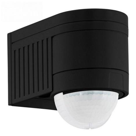 Eglo 96462 - Détecteur de mouvement extérieur DETECT ME 4 noir IP44