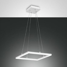 Fabas 3394/40/102 - Suspension LED avec fil BARD 1xLED/39W/230V blanc