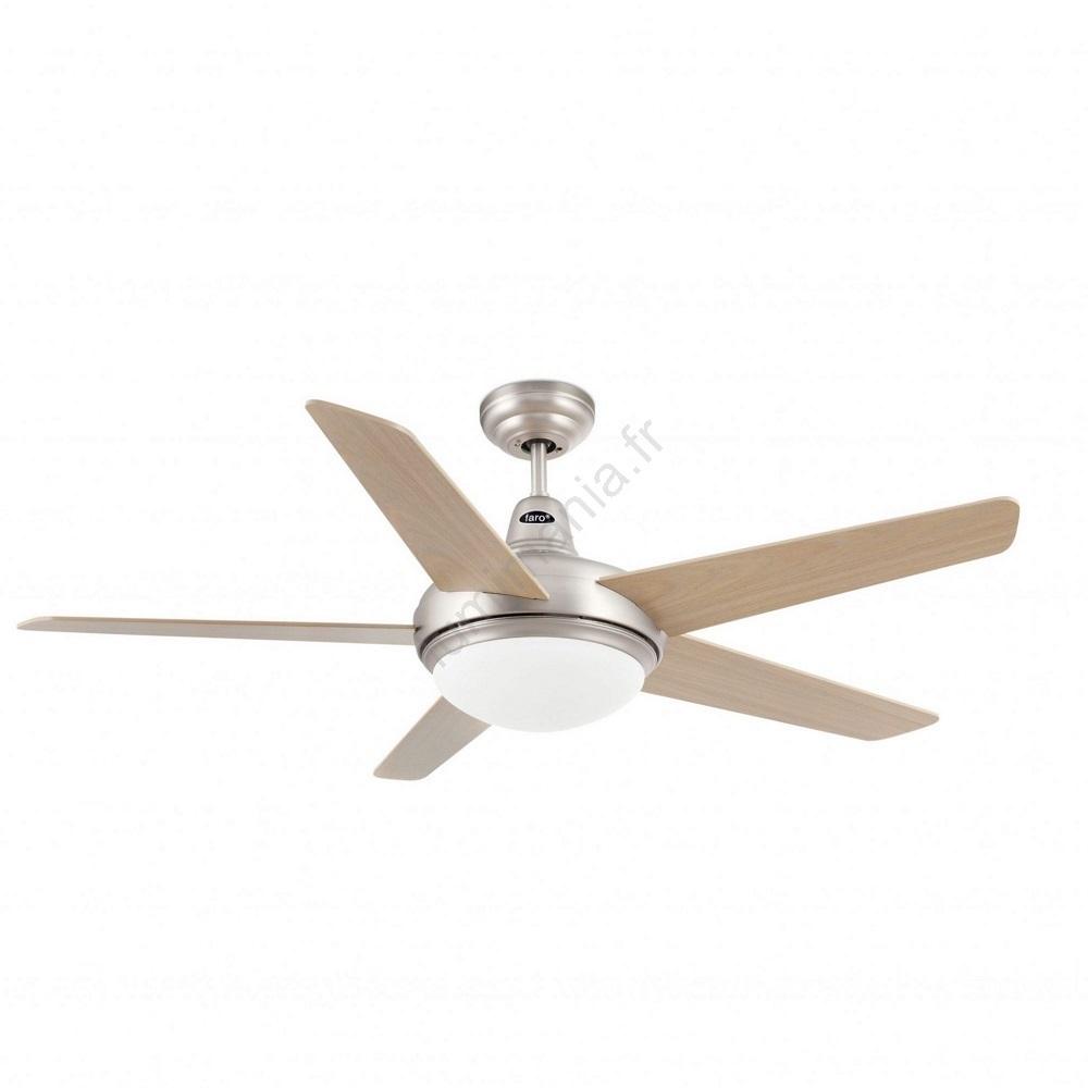 Lampe ventilateur de plafond Ovni: Vente luminaire ventilateur plafond
