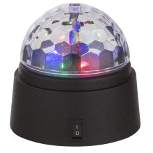 Globo 28014 - Lampe décorative LED DISCO 6xLED/0,06W/3xAA