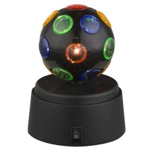 Globo 28017 - Lampe décorative LED DISCO 1xLED/0,06W/3xAA