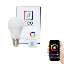Immax NEO - Ampoule LED à intensité modulable E27/8,5W/230V + commande ZigBee