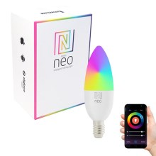 Immax NEO - Ampoule LED RGB à intensité modulable E14/5W/230V ZigBee