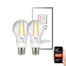 Immax NEO - SET 2x Ampoule LED à intensité modulable E27/6,3W/230V