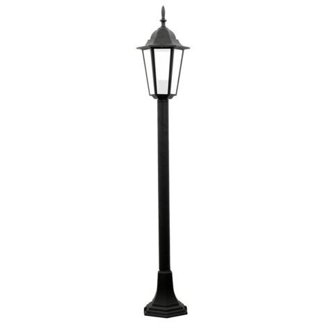 Lampadaire extérieur 1xE27/60W/230V noir