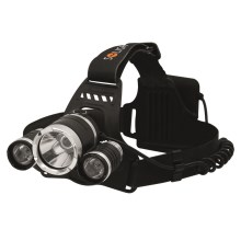 Lampe frontale LED 3x Cree chip/ 4xAA IP44