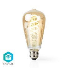 LED Ampoule intelligente dimmable VINTAGE ST64 E27/5,5W/230V