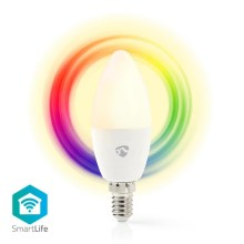LED RGB Ampoule intelligente dimmable E14/4,5W/230V