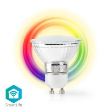 LED RGB Ampoule intelligente dimmable GU10/5W/230V