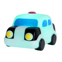 Lucide 71558/21/31 - Veilleuse enfant LED NIGHTLIGHT LED/1W/5V voiture de police