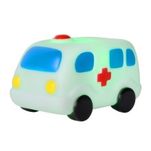Lucide 71560/21/31 - Veilleuse enfant LED NIGHTLIGHT LED/1W/5V ambulance