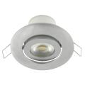 Luminaire LED encastrable inclinable LED/7W/230V argent