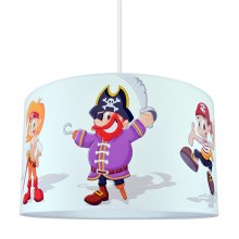 Lustre enfant PIRATES 1xE27/60W/230V