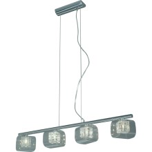 Luxera 46001 - Suspension TOGO, 4xG9/40W/230V