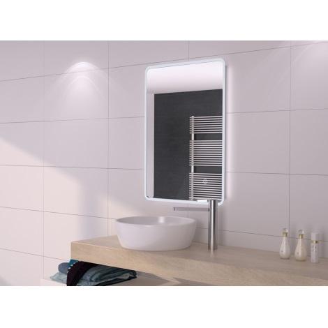 Bon Miroir LED Salle De Bain Avec Rétro éclairage 500x700mm IP44