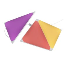 Nanoleaf - PACK 3x Panneau dimmable LED RGB TRIANGLES LED/1W/230V