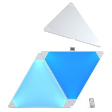 Nanoleaf - SET 3x Panneau dimmable LED RGB AURORA LED/2W/230V