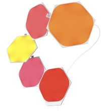 Nanoleaf - SET 5x Panneau dimmable LED RGB SHAPES HEXAGON LED/2W/230V